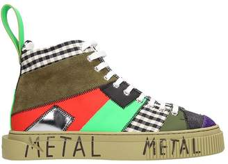 Gienchi Patchwork Multicolor Sneakers
