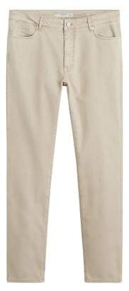 BEIGE Mango Man MANGO MAN color slim-fit Patrick jeans