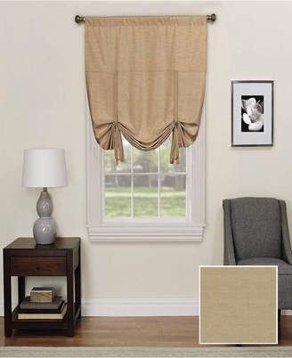 """Ellery Homestyles Eclipse Kendall Blackout Window Tie-up Shade, 42"""" x 63"""""""