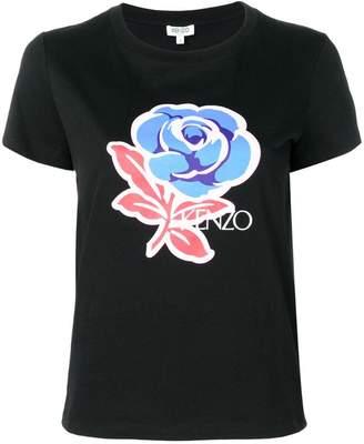 Kenzo slim-fit flower T-shirt