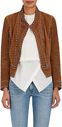 Derek Lam 10 Crosby Women's Embellished Suede Jacket $1,595 thestylecure.com