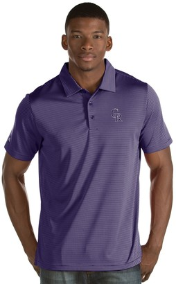 Antigua Men's Colorado Rockies Quest Polo