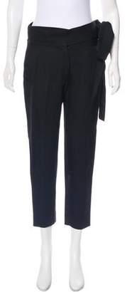 IRO Tie-Accented Straight Leg Pants