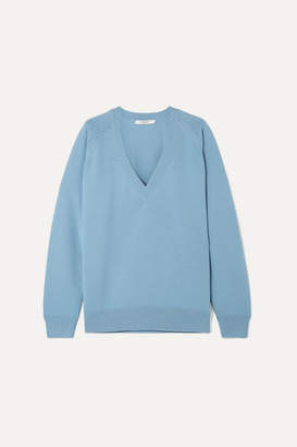 Givenchy Wool And Cashmere-blend Sweater - Blue