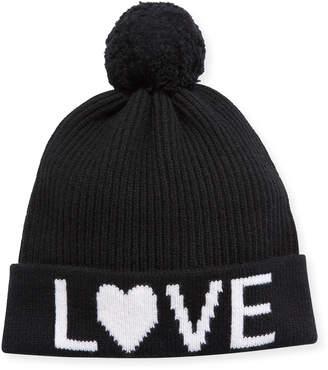 Neiman Marcus Cashmere Love Beanie