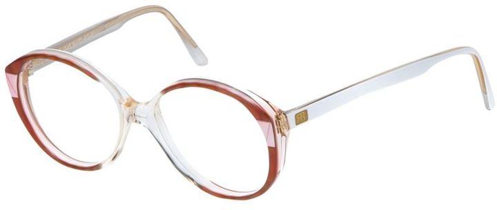Balenciaga Vintage round glasses