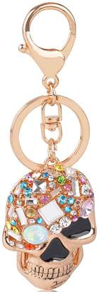 jiana Skull Key Keychain Creative Novelty Blings Skull Keychain or Purse Handbag(en Keychain)