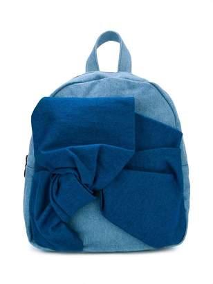 Stella McCartney oversized bow detail backpack