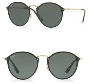 Ray-Ban 59MM Blaze Round Sunglasses