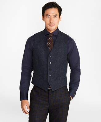 Brooks Brothers Donegal Five-Button Vest