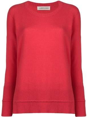Lamberto Losani loose round neck sweater