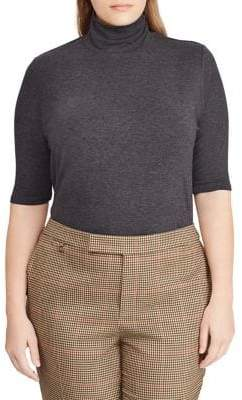 Lauren Ralph Lauren Plus Classic Turtleneck Sweater