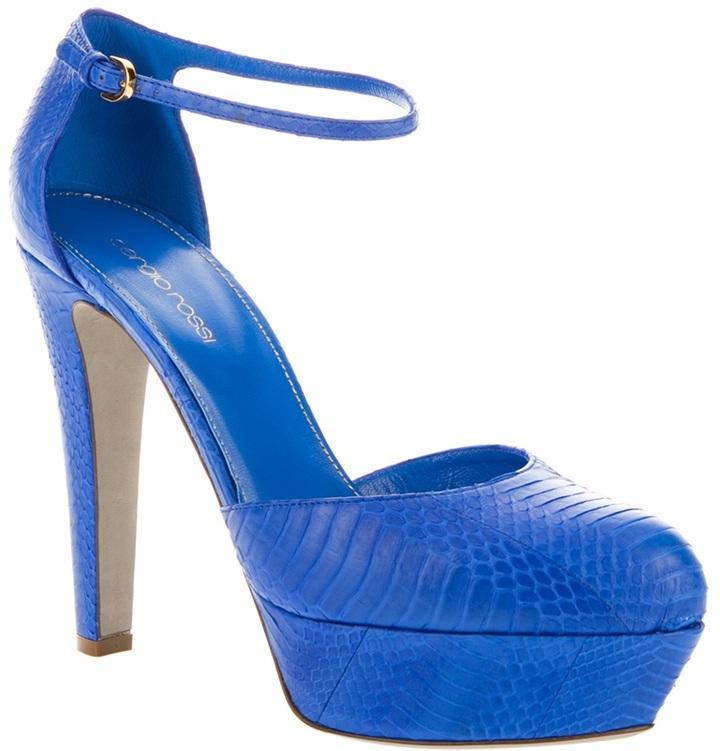 Sergio Rossi high heel sandal