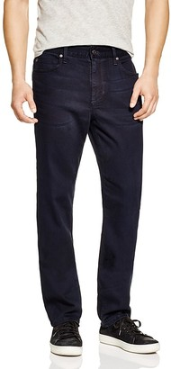 Joe's Jeans Saville Row New Tapered Fit in Blue/Black $179 thestylecure.com