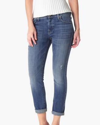 7 For All Mankind Josefina Boyfriend in Bright Light Broken Twill