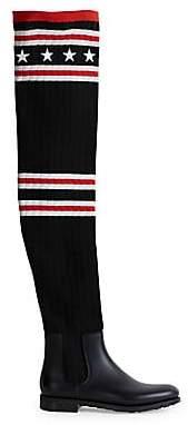 Givenchy Women's Thigh High Sock Rainboots