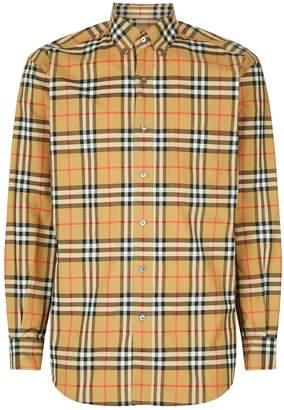 Burberry Vintage Check Long Sleeve Shirt