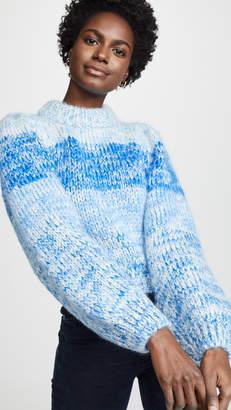 7204733477548 Ganni Hand Knit Wool   Mohair Sweater