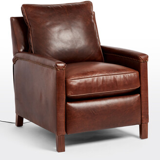 Rejuvenation Thorp Leather Power Recliner Chair