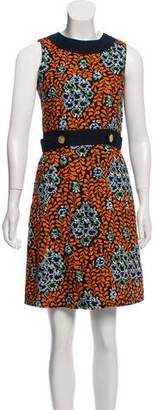 Tory Burch Linen Printed Dress