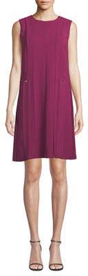 Lafayette 148 New York Zaida Sleeveless Finesse Crepe Dress