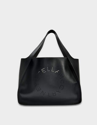 38be6f7a27 Free Returns at Monnier Freres · Stella McCartney Alter Nappa Tote Stella  Logo Bag in Black Eco Leather