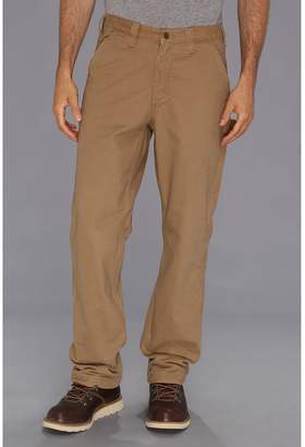 Carhartt Washed Twill Dungaree Flannel Lined Pant Men's Casual Pants