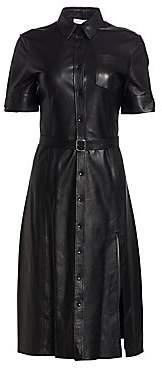 Altuzarra Women's Kieran Leather Shirtdress