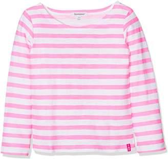 3 Pommes Girl's Pink Little Star T-Shirt,(Manufacturer Size:5Y/6Y)