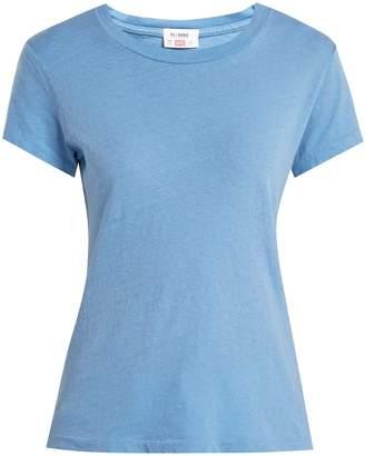Hanes RE/DONE ORIGINALS X 1960s cotton T-shirt