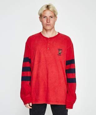 Storeroom Vintage Vintage Brand Tommy Long Sleeve T-Shirt Red (XXL)