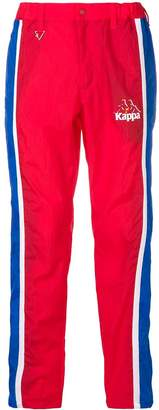Kappa tailored track style trousers