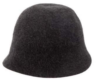 Cloche Frank Olive Felt Hat