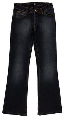 Just Cavalli Mid-Rise Flared Leg Jeans