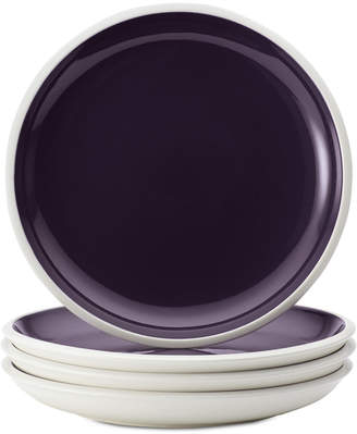 Rachael Ray Rise Purple Set of 4 Salad Plates