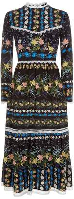 Erdem Georgie Midi Dress