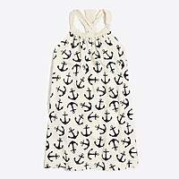 J.Crew Factory Girls' printed bow-back dress : FactoryGirls Dresses | Factory