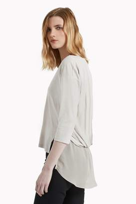 Great Plains Summer Glimmer Draped Back T-Shirt