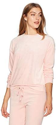 Juicy Couture Black Label Women's Lightweight Velour Pullover