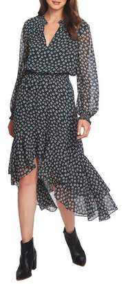 1 STATE 1.STATE High Low Floral Dress