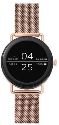 Skagen Falster Touchscreen Mesh Strap Smart Watch, 42mm
