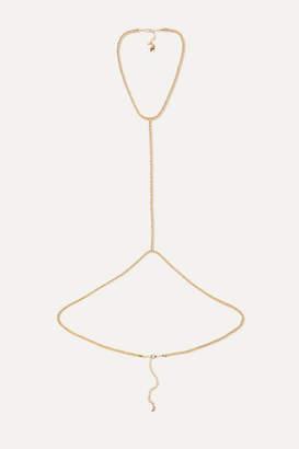 Rosantica Onore Gold-tone Body Chain