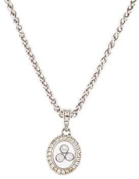 Chopard 18K Happy Diamonds Pendant Necklace