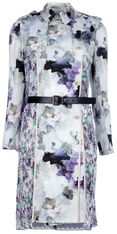 Antonio Marras floral trench dress