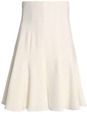 Dolce & Gabbana Pleated Crepe Mini Skirt