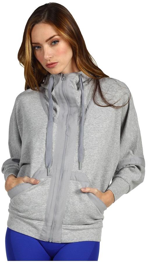 adidas by Stella McCartney Yoga Hoodie X51267 (Medium Grey Heather) - Apparel