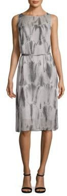 Eileen Fisher Shibori Silk Dress $448 thestylecure.com