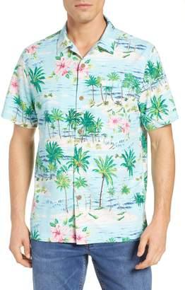 Tommy Bahama Aloha Surf Silk Blend Camp Shirt