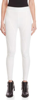Faith Connexion White Scuba Leggings