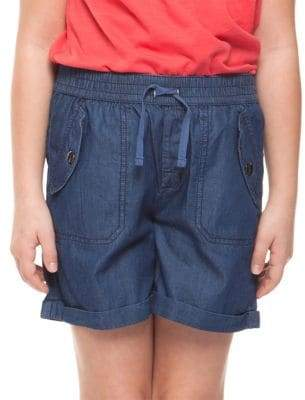 Dex Girl's Pull-On Cotton Shorts